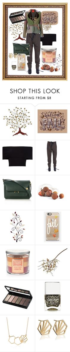 """""""Looking Forward to Fall...."""" by flippintickledinc ❤ liked on Polyvore featuring Southern Enterprises, Rosetta Getty, Isabel Marant, Marni, Casetify, Yankee Candle, Crate and Barrel, Isadora, Nails Inc. and Rachel Jackson"""
