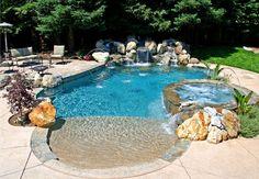 Freeform Swimming Pool Designs | Swimming Pool Builder | Premier Pools And Spas