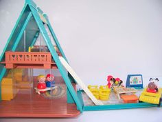 fisher price a-frame house
