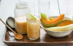 Melon Seed Agua Fresca // Refreshing! #orange #spring #recipe