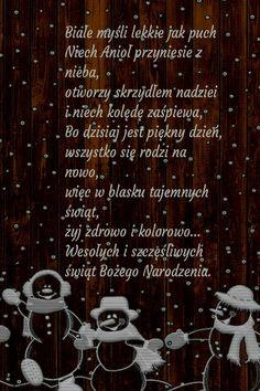 Kartka świąteczna 🌲🌲🌲 Christmas And New Year, Christmas Time, Merry Christmas, Lets Celebrate, Motto, Birthday Wishes, Diy And Crafts, Nostalgia, Presents