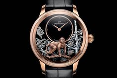 """Jaquet Droz introduces two """"Year of the Monkey"""" Editions of the Petite Heure Minute"""