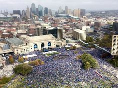 World Series Champs Parade in KC