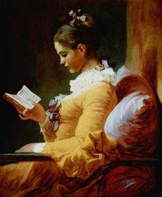 """The Reader"" by Jean-Honoré Fragonard"