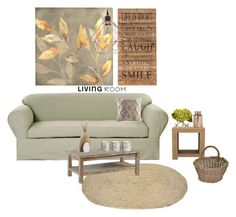 """""""Senza titolo #5569"""" by waikiki24 ❤ liked on Polyvore featuring interior, interiors, interior design, home, home decor, interior decorating, Classic Slipcovers, Second Nature By Hand, KAS and Illume"""