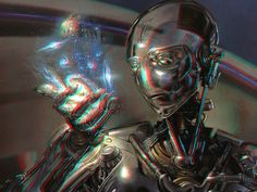 Cyborg 3-D conversion by MVRamsey on DeviantArt
