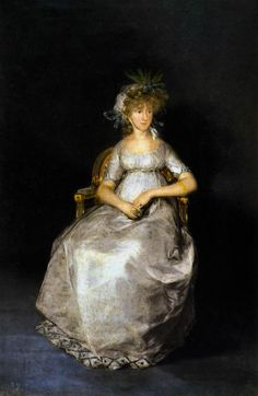 Portrait of the Countess of Chinchon by Francisco de Goya