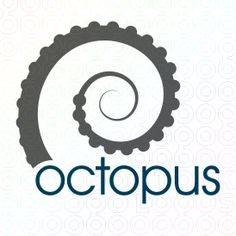 logo research: Octopus (there's that spiral again)