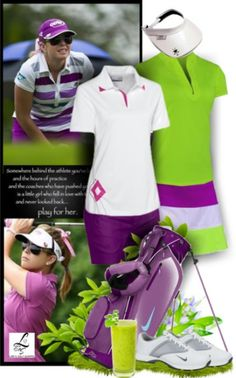 At Lori's Golf Shoppe's Polyvore, you can always choose your style to golf, check out lorisgolfshoppe.polyvore.com #ootd