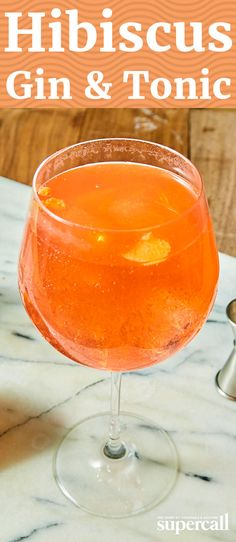 We use this idea of adding a flavor by mixing the gin with a liquor and citrus in the glass. This Gin & Tonic features Spanish-made Modernessia Gin, goji berry liqueur, Aperol, lemon juice and hibiscus-flavored tonic water. It's bright and citrusy, floral and a little bitter, but undeniably a Gin & Tonic.