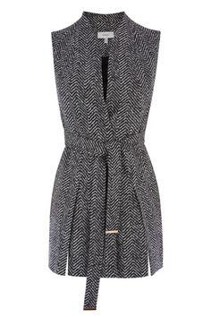 Jackets, Coats & Cover Ups | Greys LIKKA SLEEVELESS JACKET | Coast Stores Limited Fall 2016