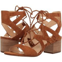 Vince Camuto Fauna (Maple Brown) Women's Shoes ($83) via Polyvore featuring shoes, vince camuto footwear, mid-heel shoes, vince camuto shoes, leather upper shoes and brown shoes