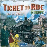 Days of Wonder Ticket to Ride Board Game - Europe
