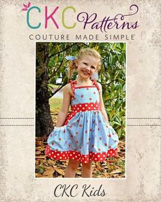 Create Kids Couture - Polly's Pretty Pocket Dress PDF Pattern , $8.00 (http://ckcpatterns.com/pollys-girls.html)