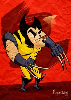 Wolverine #Illustration