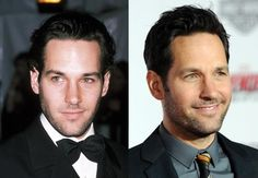 Though it's been decades since these famous men got their big break, their faces have remained eerily frozen in time.