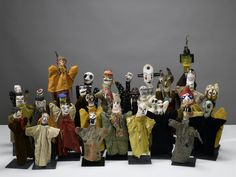 Paul Klee Puppets, made for his son Felix