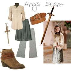 """Arya Stark"" by cloudstorm101 on Polyvore"