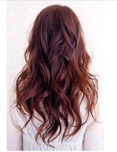 Permed really loose waves