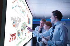 Panasonic launches interactive whiteboard displays