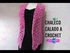 CHALECO CALADO A CROCHET. - YouTube