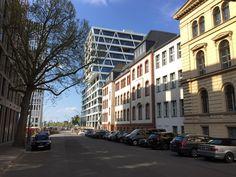 Neue Firmenzentrale von 50hertz in der Europa-city unweit vom Berliner Hauptbahnhof im April 2016