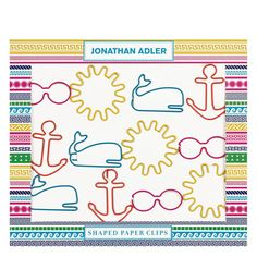 Paper Clips by Jonathan Adler - Assorted Icons