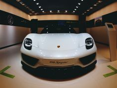 First of many posts on this car...The Porsche 918, in white, at the Detroit Auto Show.