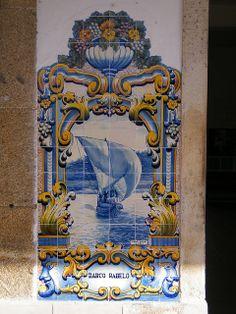 Painel de Azulejos: Barco Rabelo - Pinhão | Flickr – Compartilhamento de fotos!