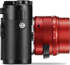 Above, Leica APO-Summicron-M 50 mm f/2 ASPH., red anodised version, and Leica M Monochrom camera. LEICA APO-SUMMICRON-M 50 mm f/2 ASPH. in Red Anodised Finish is the Latest Special Edition: Only 100 Lenses Will Be Available Worldwide www.photoxels.com/leica-apo-summicron-m-50-mm-f2-asph-red/