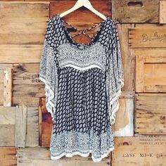 I really MUST have this dress...I think it may be by Free People?