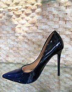 Loubot Blue High Heels