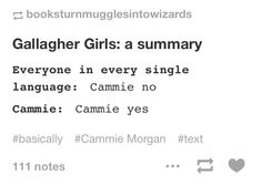 I guess you could describe just about every series this way... *cough*Persassy*cough*Divergent.   Gallagher girls