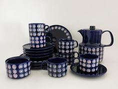 Melitta Vintage Allemagne Coffee Set  Cobalt par EightMileVintage