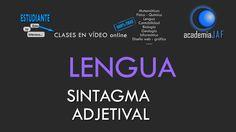 El Sintagma Adjetival - Análisis sintáctico Lengua Española sintaxis - a...
