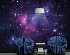 Wall still 3D character customization Galaxy Star Ceiling Bedroom ...