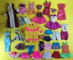 "Waitress Cosplay Costume Fashion Doll Clothes For 11.5/"" 1//6 Doll Accessories Toy"