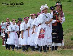 Wedding ceremony in Region Podpolanie Detva - Hrinova near town of Zvolen Anton, Folk Costume, Costumes, Folk Clothing, World Of Color, Czech Republic, Folklore, Wedding Ceremony, Korea