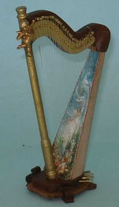 Harp, by Janet Reyburn.