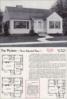 images about Old House Plans on Pinterest   Bungalow Floor    With so many styles of Early American home plans at House Plans and More  you are sure to a floor plan design Colonial Home Plans