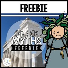 This is a sample of my 97 page unit about Greek Myths called It's All Greek to Me for third, fourth or fifth grade students. Students will enjoy this Greek mythology unit to learn how stories of the past influence our life of today? Your students will love investigating this question through close reading and exploring Greek myths through discussion and project activities.