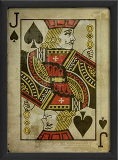 Jack of Spades Framed Art