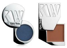 Kjaer Weis Eye Shadow in Blue Wonder & Cream Blush in Desired Glow