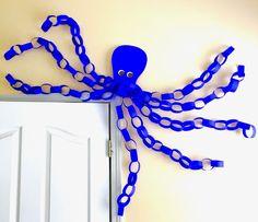 Octopus Bulletin Board or Door/Window Decoration
