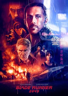 Blade Runner 2049 alternative movie poster by Ignacio RC #bladerunner2049 #bladerunner #scifi #movieposter