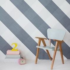 For the most beautiful brands in luxury wallpaper & art posters, visit Smallable: Ferm Living, Bien Fait, Mimi'Lou. Over 600 brands. Kids Room Wallpaper, Wall Wallpaper, Luxury Wallpaper, Designer Wallpaper, Just Kids, Luxury Chairs, Decoration Piece, Blue Nails