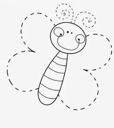 17 Moldes de animalitos para hacer figuras en foami y fieltro ~ Haz Manualidades
