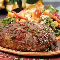 Ribeye Steaks with Blackberry Zinfandel Sauce ~ a rich and succulent meal ~ Cheers!