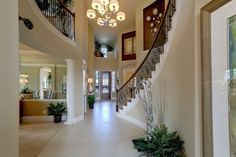 Westin Homes - Harmony - The Castlebrook - New Homes Houston - Wrought Iron Staircase
