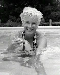 1955, Marilyn Monroe by Milton Greene